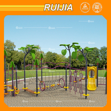 Ruijia customized colourful climbing net for children play outdoor playground