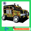 New design military truck adult bouncy castle customized inflatable bouncer for sale