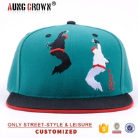 new design fabric cap snap back/newest cheap fashion caps snapback/short brim cap snapback