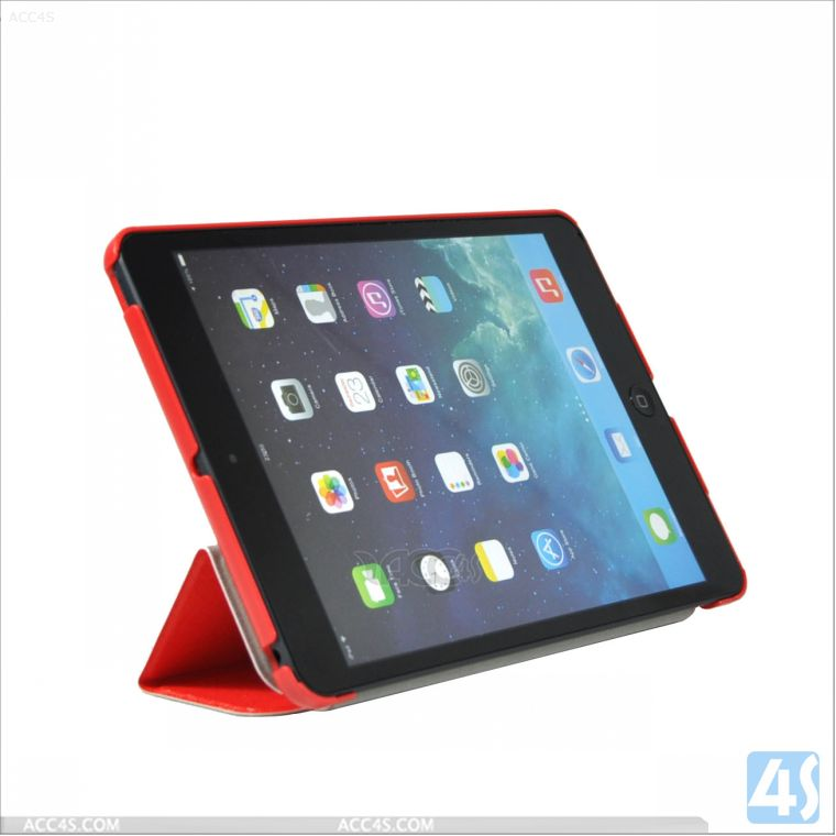 Folio Leather Smart Tablet Case for iPad Mini 2 Retina P-IPDMINIiiCASE026