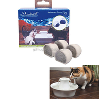 Charcoal Filters For the Drinkwell Avalon and Pagoda Ceramic Pet Water Fountains