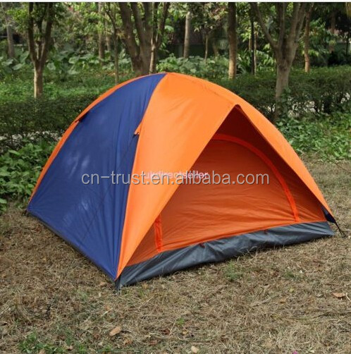 Camping Backpacking Tent Folding Shelter 3 Person W/ Survival Bracelet Armband