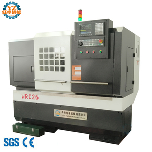 WRC26 Alloy Wheel Repair / Car Rim Straightening Machine CNC Lathe