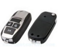 Hot sale online 3 buttons flip key shell for toyota camry key zinc alloy toyota key shell
