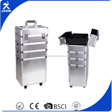 Sunrise Wholesale Cosmetic Aluminum Professional Beauty Box Makeup Vanity Case