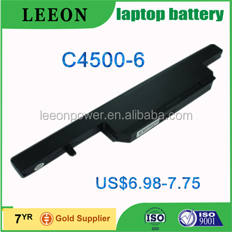 Hot Sale Laptop Battery Supplier For HASEE C4500BAT-6