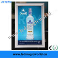 Magnetic advertising aluminum snap frame led extruded aluminum photo frame