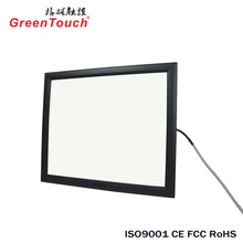 23inch transparent multitouch Tv panel touch screen lcd touch screen display