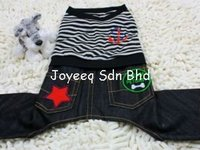 Sailor Jeans Pants, Pet Clothes, Dog Apparels, Accessories