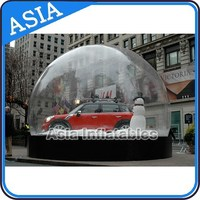 Inflatable Car Cover; Inflatable Bubble Dome For Car Show