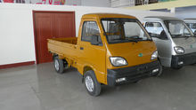 EEC mini truck gOne-T01 gasoline engine 2 cylinders 12kw/20hp single cabin 2 seats