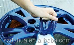 glossy rubber dip,new high glossy clear dip topcoat for colordip rubber wrap coating paint dip, dipped car