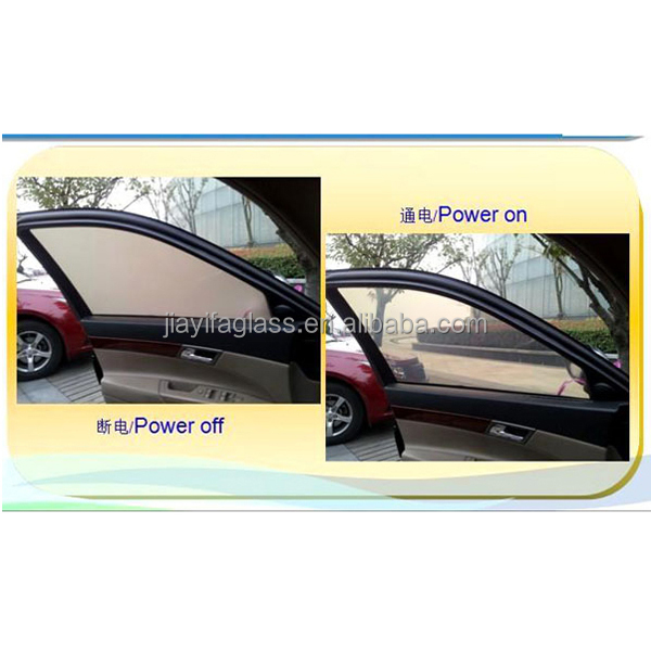 Electric Control Smart Privacy Glass for Car Window,Bulletproof Glass for Car Window