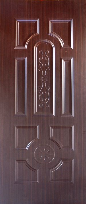Trade Assurance 820X2150X3.2mm Natural Wood Veneer / White Premier / Melamine / HDF Door Skin