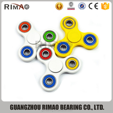 top quality 608 ceramic bearing hand fidget spinner toy