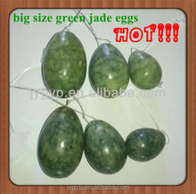Set/3 drilled natural helu jade eggs sex products for big vagina