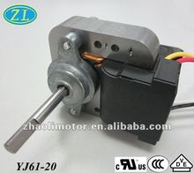 High rpm ac electric fan motor YJ61-20 for microwave oven, oven fan, humidifier, fan heater