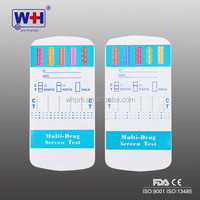 2017 wholesale one step drug of abuse multi-panel urine test with FDA and CE certificate