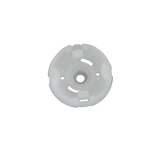 round shape white motor spare part plastic housing