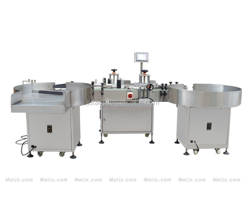 CE high quality automatic big round bottle labeling machine with bottle unscrambler