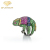 Chameleon Ring For Men With Colorful Gemstone Brass Rings