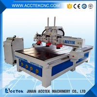 Hot sale cnc router with multi spindle from Jinan!machinery for wooden furniture