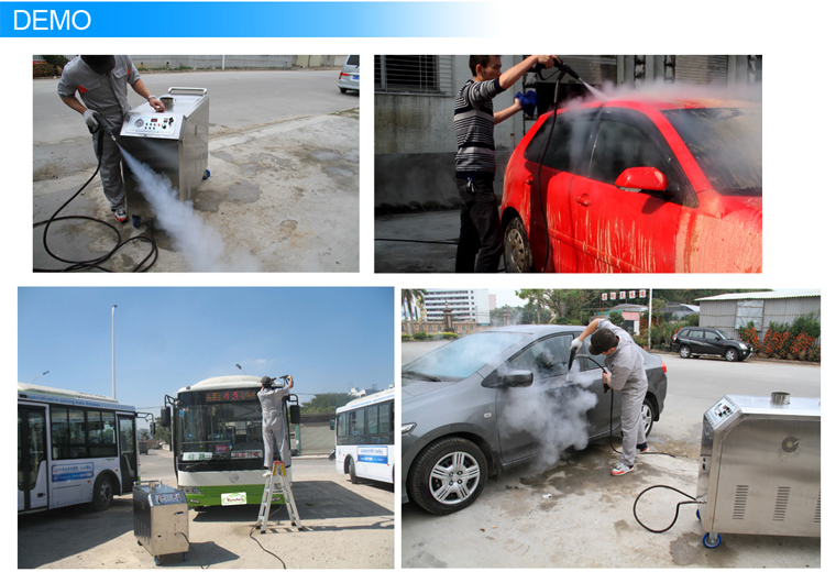 Mobile Steam Car Wash with LPG Steamer