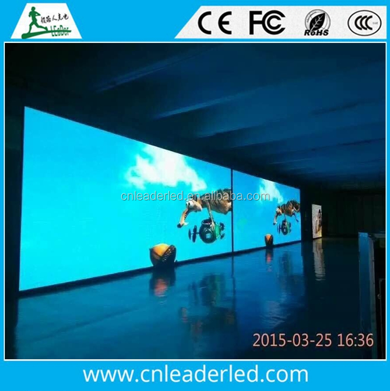 Leader 6mm Pixels and smd P6 indoor &outdoor screens led back stage screen