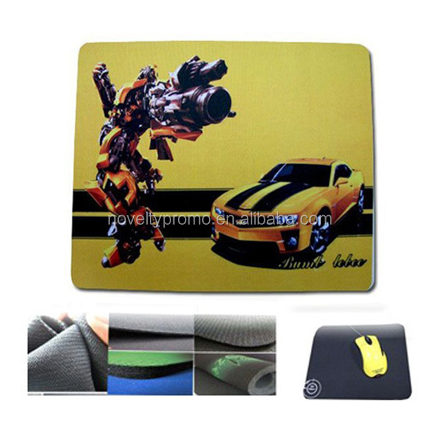 Custom Full Color Printing Rubber Mouse Pad