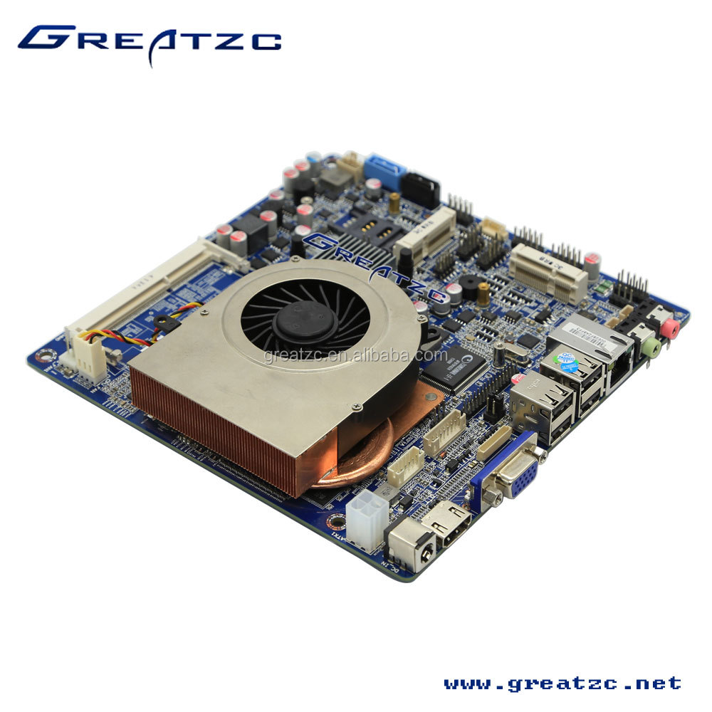 High Configuration Industrial Motherboard NVIDIA GT730 HD 4K Mainboard I5-4200U MINI-ITX Motherboard With Low Power Consumption