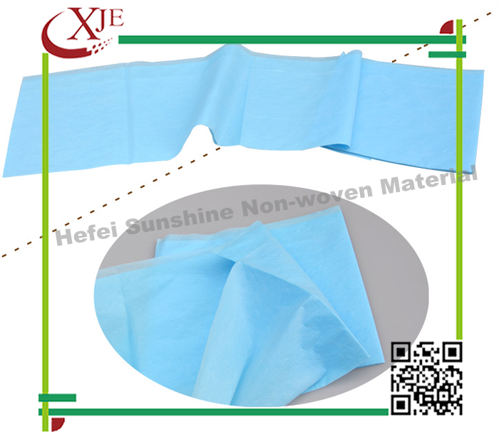 usa hospital waterproof pe bamboo protector nonwoven single wholesale bed sheets