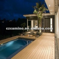 unti-slip waterproof Indoor pool wood plastic composite