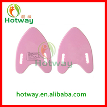 A shape kick board manufacturer EVA Foam Swimming Pull Buoy Swimming Pool Float Kickboard EVA floating foam