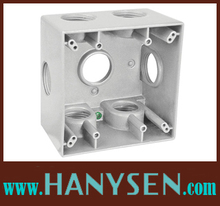 High Quality aluminum die casting weatherproof box