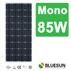 Bluesun high efficiency mono 85W monocrystalline solar panel for home use