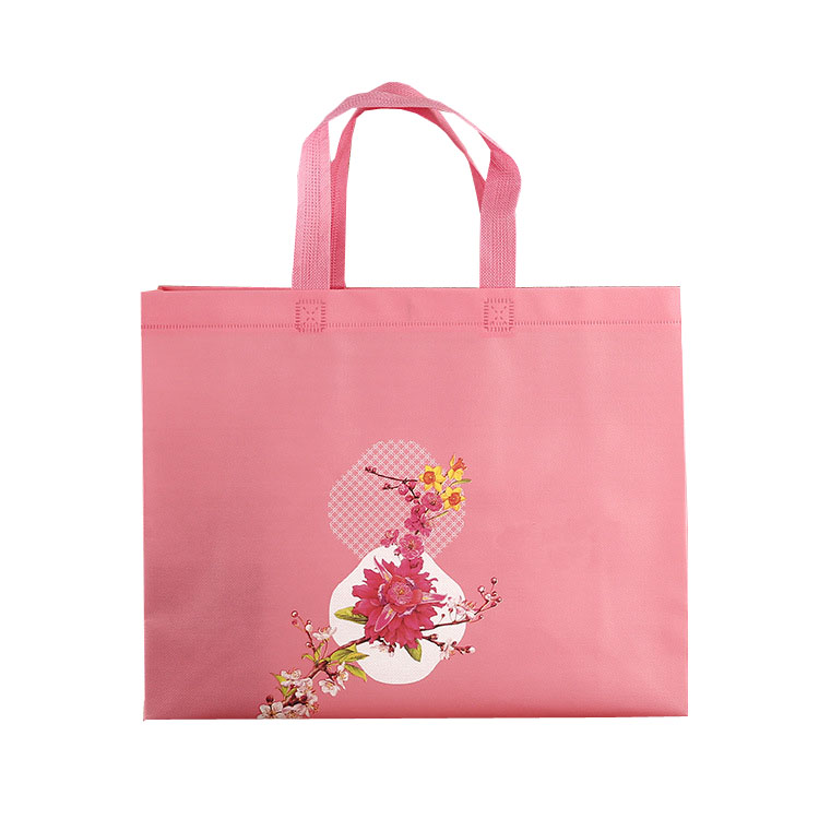 laminated tote non woven grocery bag