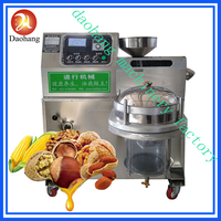 stainless steel sunflower\peanut\sesame\flax\screw oil press machine