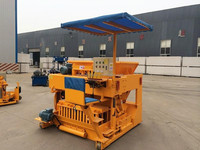 Moving Type QTM6-25 buy movable egg-laying cement block machine