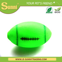 Factory wholesale vinyl pet toys mini footbal