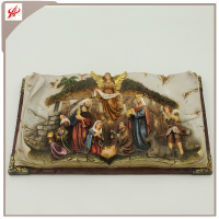 Polyresin Nativity Set Manger Home Decoration