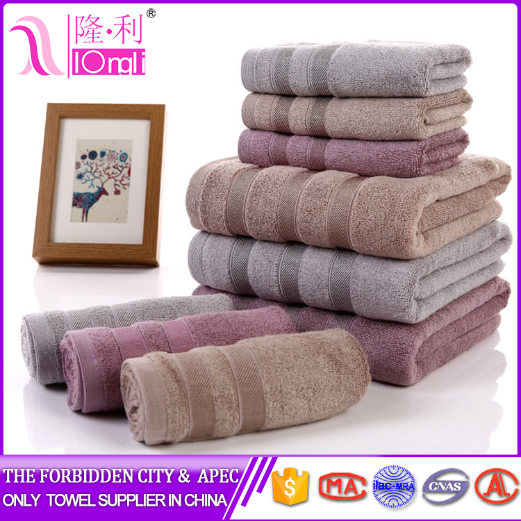 New design china supplier bath towels 100 cotton with CE certificate