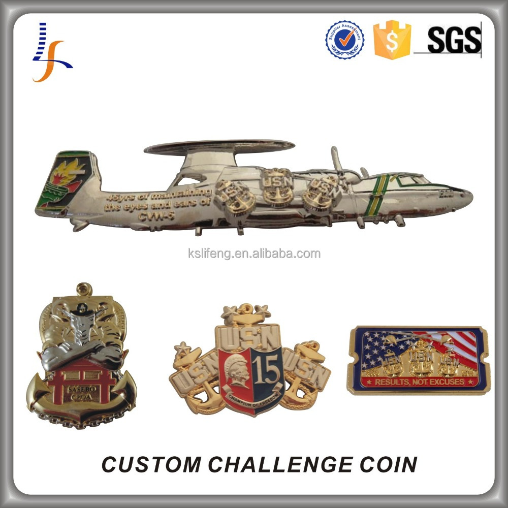 Good Price Custom 3D USN Military Challenge Coin Manufacturer