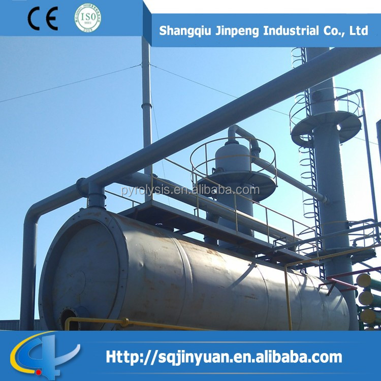 20tons crude oil refinery reycle equipment