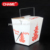 to go box container / top design lunch food box