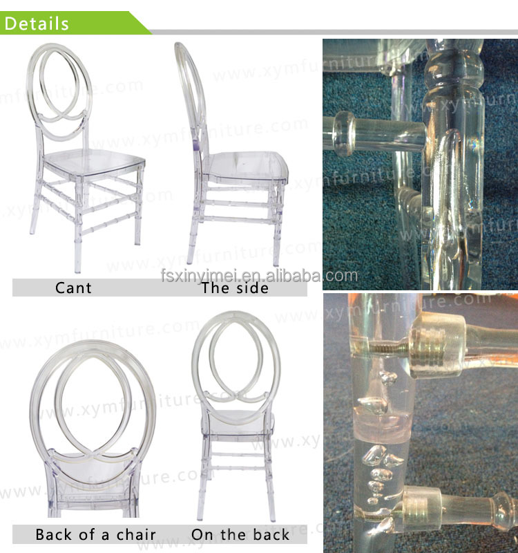 super quality hot sell luxury wedding acrylic chair XYM-ZJ95