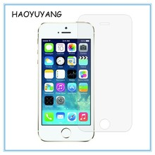 Free Sample Screen Protector 0.3mm 2.5D Curved Edge Tempered Glass Protective Film for iPhone 5/5S SE