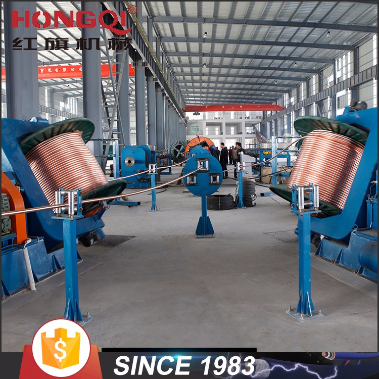 electrical cable laying up type making machine Drum Twister