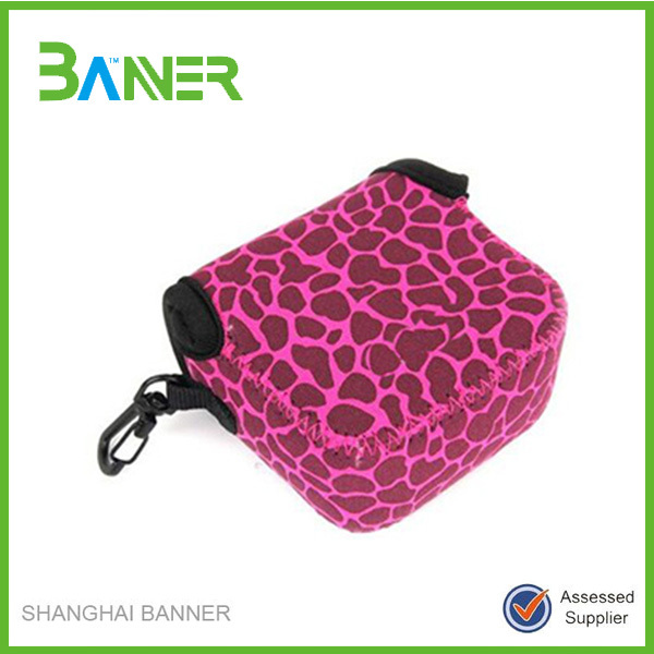 Promotional wholesale Pattern printing latest Neoprene pro camera bags