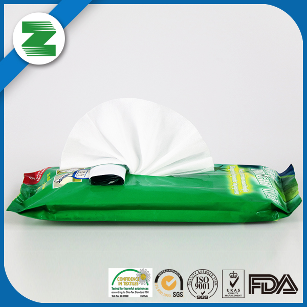 Complex nonwoven fabric wet mopping refill/floor wet wipes