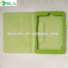 Green Leather Cover Case w/Stand Film case cover for acer a1-810